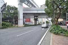北九州高速鉄道・香春口三萩野駅前の様子。(2014-07-12,共用部,ENVIRONMENT,1F)