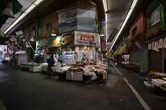 隣の旦過駅の商店街。(2014-07-12,共用部,ENVIRONMENT,1F)