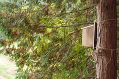 鳥の巣箱も取り付けられました。(2016-11-29,共用部,OTHER,1F)