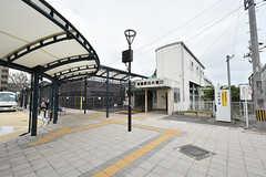JR鹿児島本線・東郷駅の様子。(2016-06-07,共用部,ENVIRONMENT,1F)