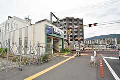 西鉄天神大牟田線・下大利駅の様子。(2016-06-06,共用部,ENVIRONMENT,1F)