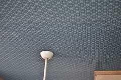 天井の壁紙もかわいい。(2013-05-17,共用部,OTHER,2F)