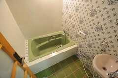 バスルームの様子。(202号室)(2011-05-11,専有部,ROOM,2F)
