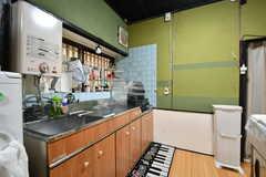 キッチンの様子2。(2017-09-14,共用部,KITCHEN,1F)