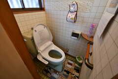 ウォシュレット付きトイレの様子。(2017-09-14,共用部,TOILET,1F)