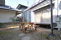 庭の様子2。(2014-03-17,共用部,OTHER,1F)
