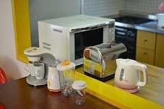 コーヒーメーカーもあります。(2014-03-17,共用部,OTHER,1F)