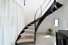 美しい階段です。(2017-04-25,共用部,OTHER,1F)