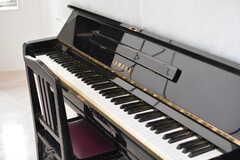 ピアノの様子。(2017-04-25,共用部,OTHER,1F)