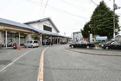JR・向洋駅の様子。(2017-04-25,共用部,ENVIRONMENT,1F)