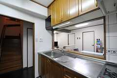 キッチンの様子3。(2011-11-27,共用部,KITCHEN,4F)