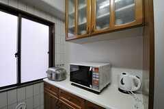 キッチン家電の様子。(2011-11-27,共用部,KITCHEN,4F)