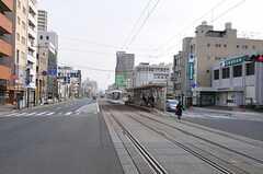 市電・鷹野橋駅の様子。(2011-11-27,共用部,ENVIRONMENT,1F)