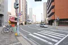 市電・鷹野橋駅前の様子。(2011-11-27,共用部,ENVIRONMENT,1F)