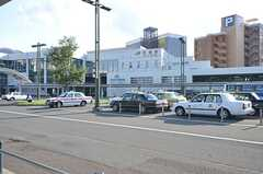 JR函館本線・手稲駅の様子。歩くと距離があるので、バスや車が便利です。(2014-09-16,共用部,ENVIRONMENT,1F)