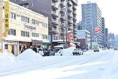 札幌市電山鼻線・西線14条駅周辺の様子。(2016-12-12,共用部,ENVIRONMENT,1F)