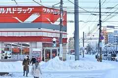 札幌市電山鼻線・西線14条駅周辺の様子2。(2016-12-12,共用部,ENVIRONMENT,1F)