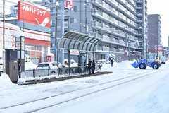 札幌市電山鼻線・西線14条駅の様子。(2016-12-12,共用部,ENVIRONMENT,1F)