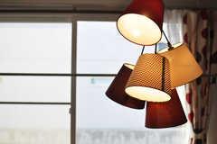 照明の様子。※モデルルームです(103号室)(2013-10-21,専有部,ROOM,1F)