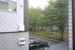 窓からの景色。(208号室)(2013-10-21,専有部,ROOM,2F)
