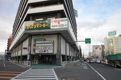 札幌市営地下鉄・白石駅の様子。(2013-10-21,共用部,GARAGE,1F)