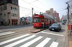 札幌市電西線6条停の様子。(2008-05-24,共用部,ENVIRONMENT,1F)