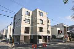 シェアハウスの外観。マンション1棟すべてシェアハウスです。(2012-05-10,共用部,OUTLOOK,1F)