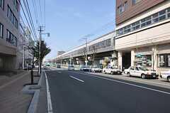 札幌市営地下鉄南北線・自衛隊前駅前の様子2。(2012-05-10,共用部,ENVIRONMENT,1F)