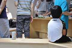 お腹いっぱいの男の子。(2012-09-02,共用部,PARTY,2F)