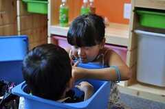 とても仲の良さそうな姉弟です。(2012-09-02,共用部,PARTY,2F)