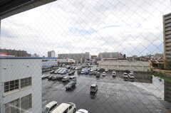 窓からの景色。(415号室)(2013-08-27,専有部,ROOM,4F)