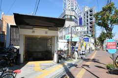 札幌市営地下鉄南北線・麻生駅の様子。(2013-08-27,共用部,ENVIRONMENT,1F)