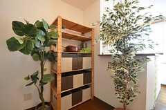 各部屋ごとに使用できる収納の様子。(2014-09-16,共用部,LIVINGROOM,2F)