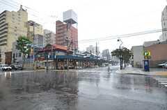 雨の日の二条市場。(2014-09-16,共用部,ENVIRONMENT,1F)