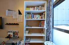 共用の本棚の様子。(2015-01-21,共用部,LIVINGROOM,3F)