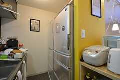 冷蔵庫は2台。(2015-01-21,共用部,KITCHEN,3F)