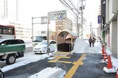 札幌市営地下鉄東西線・バスセンター前駅の様子。(2015-01-21,共用部,ENVIRONMENT,1F)