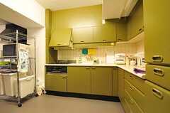 既存のキッチンの様子。(2011-12-11,共用部,KITCHEN,2F)