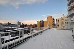 冬期以外はイベントなどでも利用するそう。(2011-12-11,共用部,OTHER,5F)