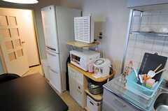 キッチン家電の様子。(2011-03-12,共用部,KITCHEN,1F)