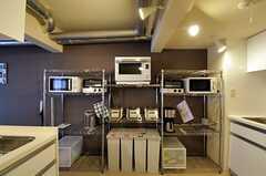 キッチン家電の様子。(2012-02-21,共用部,KITCHEN,1F)