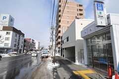 札幌市営地下鉄・中の島駅前の様子。(2012-02-21,共用部,ENVIRONMENT,1F)