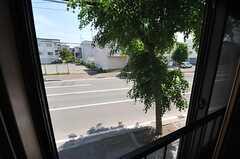 窓の外の様子。(2014-06-04,共用部,LIVINGROOM,2F)