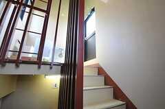 階段上がると屋上へ行けます。(2014-06-04,共用部,OTHER,5F)