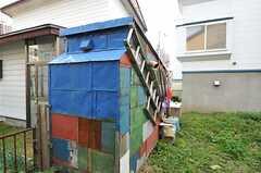 かわいい小屋もあります。(2012-10-03,共用部,OTHER,1F)