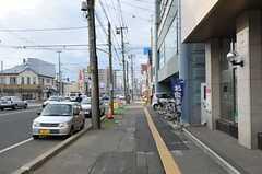シェアハウス周辺の大通り。(2012-10-03,共用部,ENVIRONMENT,1F)