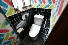 ウォシュレット付きトイレの様子。(2018-04-18,共用部,TOILET,1F)