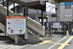 山陽電気鉄道本線・東二見駅前の様子。(2018-04-18,共用部,ENVIRONMENT,1F)