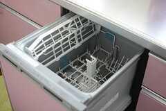 食器洗浄機もあります。(2015-02-16,共用部,KITCHEN,1F)