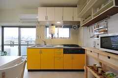 キッチンの様子。(2012-03-23,共用部,KITCHEN,4F)